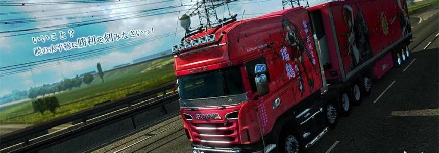 Kantai Collection paint job for RJL's Scania