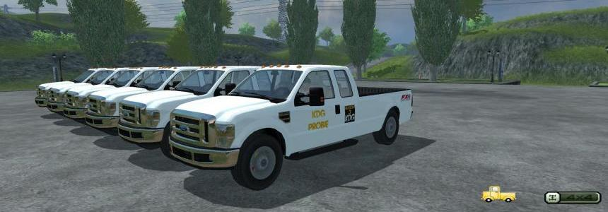 KickDownGTA Farming Simulator 2013 F350 pack v5.0
