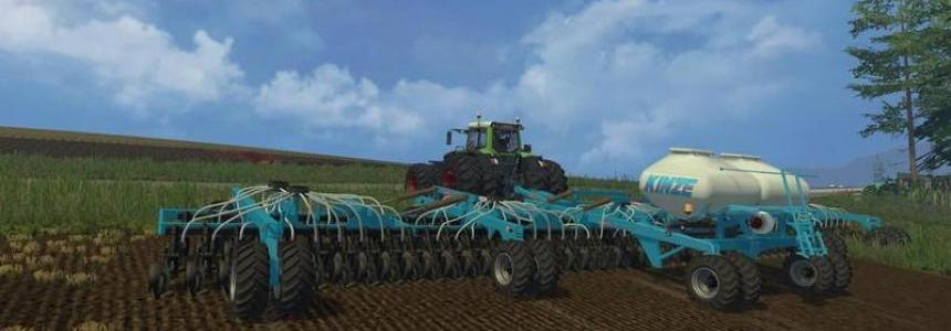 Kinze 22m seed fertilizer Combination v1.0