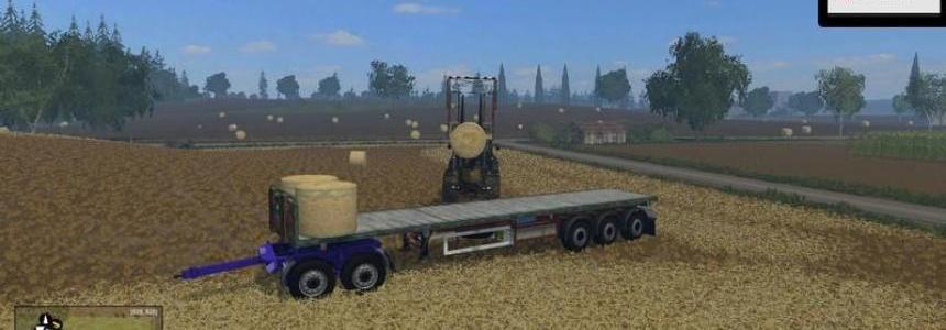 Kogel Flatbed semitrailers v1.2