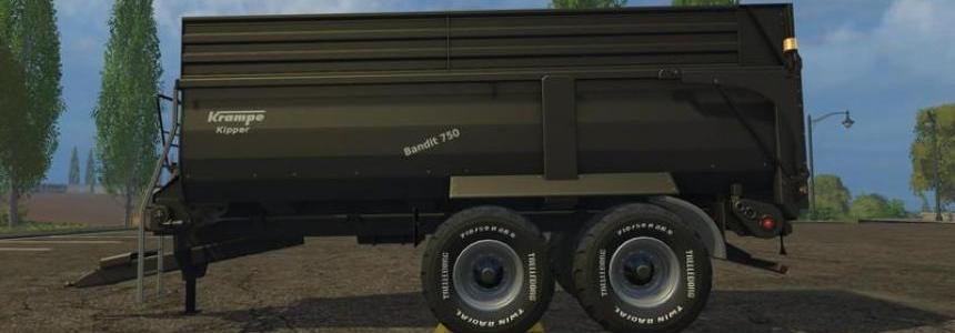 Krampe Bandit 750 Black v1.0