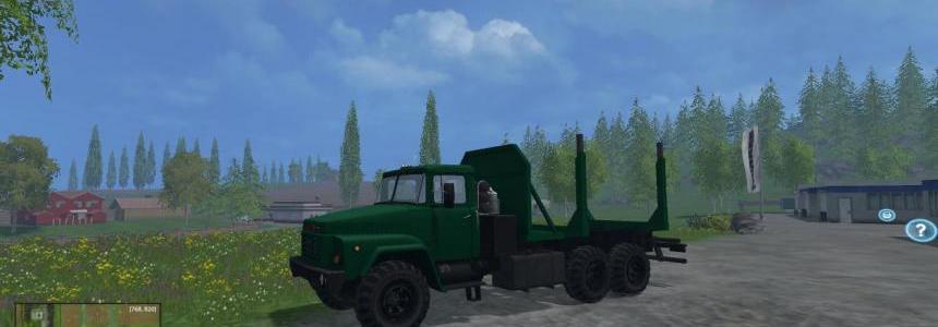 KRAZ 260 Forest v1.0