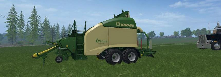 Krone Ultima CF155XC 1.4 Bale Reworked V1
