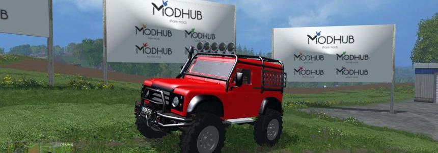 Land Rover Defender Offroad v1.0