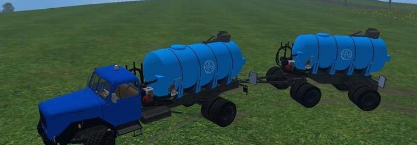 Magirus water tankers Pack v1.5