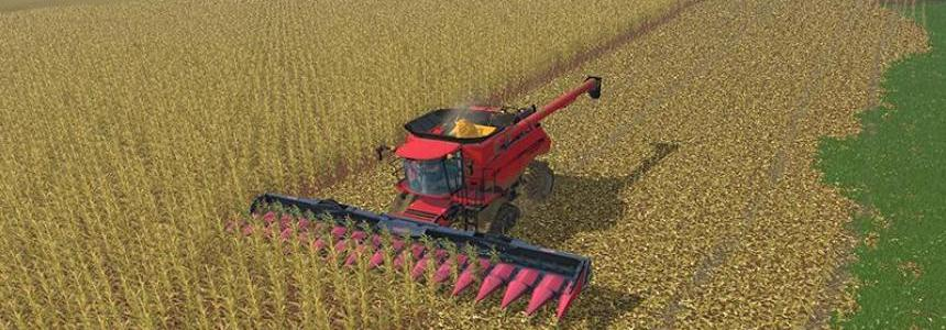 Maize stubble and main textures