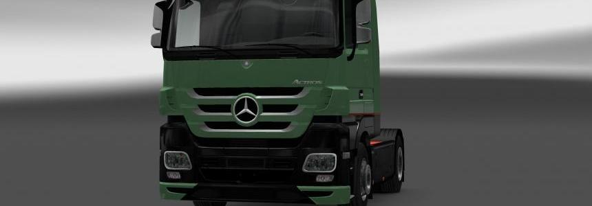 MB Actros MP3 Interior Exterior Rework Trust Edition