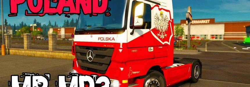 MB Actros MP3 & Tuning Accessories 1.21.x