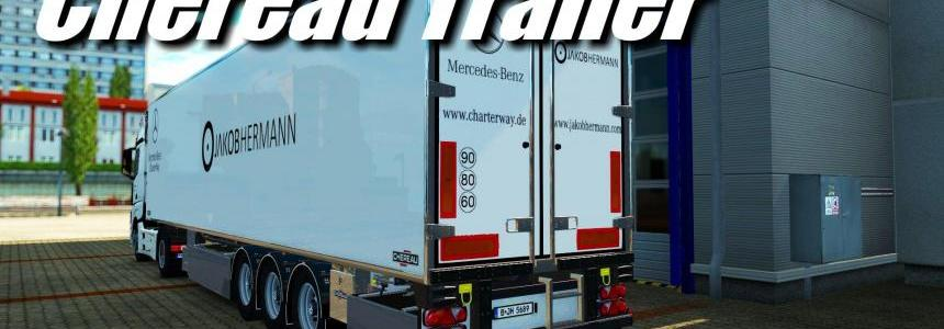 MB Actros MP4 & Chereau Trailer