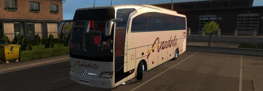 MB Travego S. Edition 15-17 Anadolu Skin v1.0