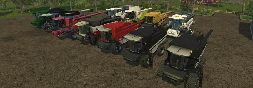 Mega Combines Pack by Irvine87