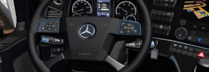 Mercedes actros 2014 Sports Interior v0.9