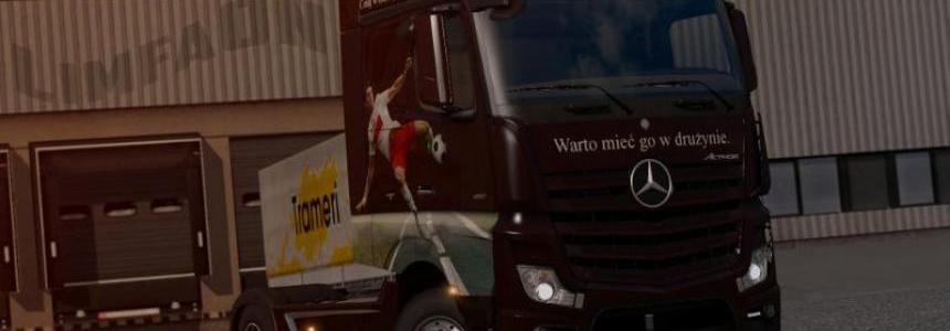 Mercedes Actros MP4 Truck of the year 2012 Skin