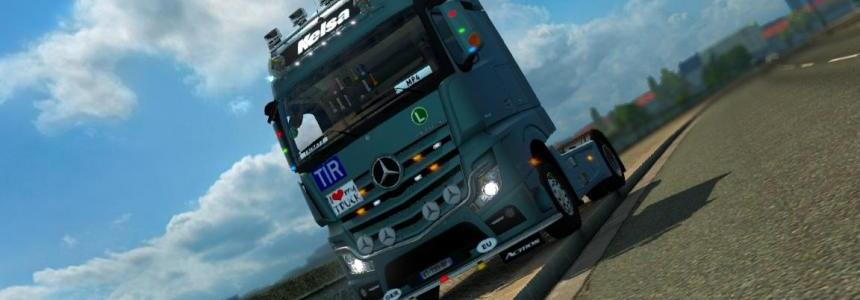 Mercedes Actros MP4 v1.8.0