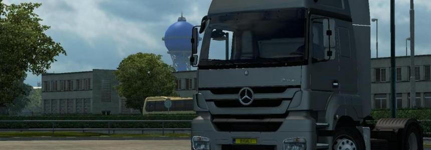 Mercedes Axor jgut Fixed 1.21.x