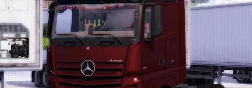 Mercedes Benz Actros MP4 1.21.x