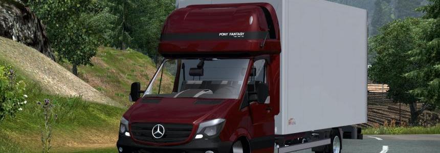 Mercedes Sprinter 2014 Izoterma v2.0
