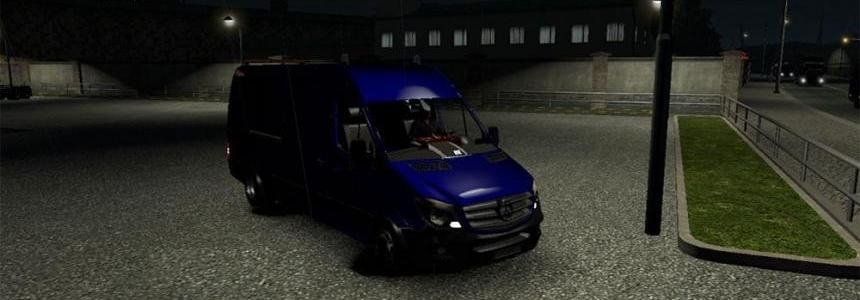 Mercedes Sprinter Long 2015 v0.4 BETA