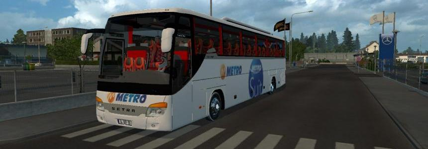 Metro Suit Skin for Setra 416 GT-HD 1.21