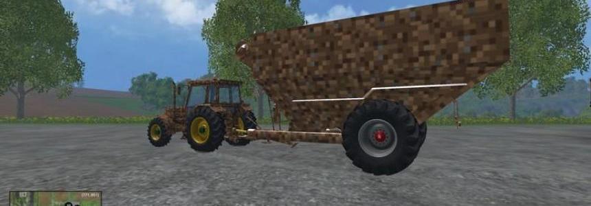Minecraft tractor trailer v0.0.1