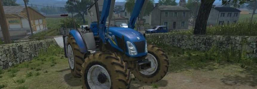 New Holland T4 no roof v1.0