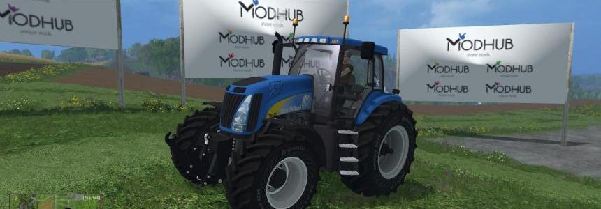 New Holland T8020 v4 Full