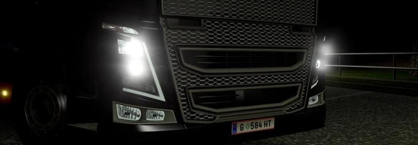 New lights Black Lights for Volvo FH 2013
