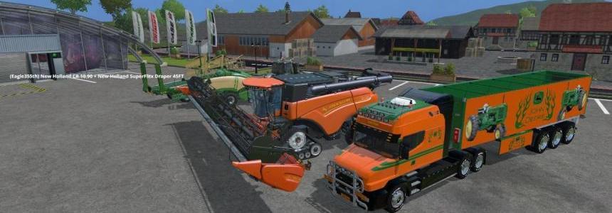 Orange John Deere Pack v1.0 By Eagle355th