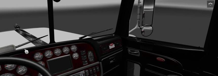 Peterbilt 389 Dark Interior