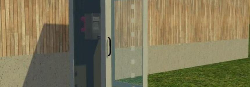 Phone booth with sound v1.0