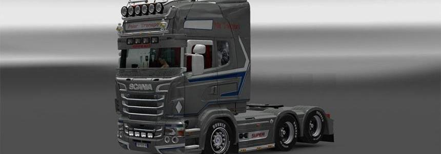 Polar Transport Scania Rjl skin