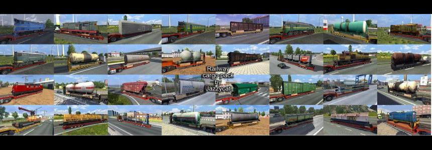 Railway cargo pack by Jazzycat  v1.7