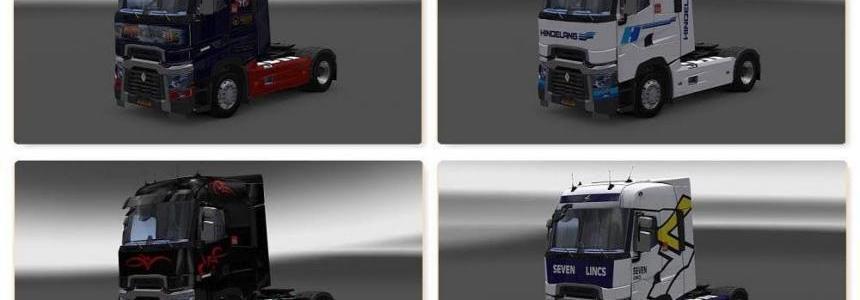 Renault Range T RTA Skin Pack v1