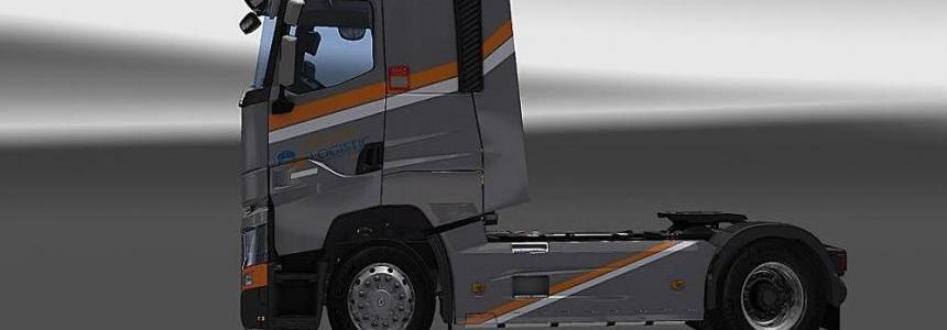 Renault T Premier Logistic Skin