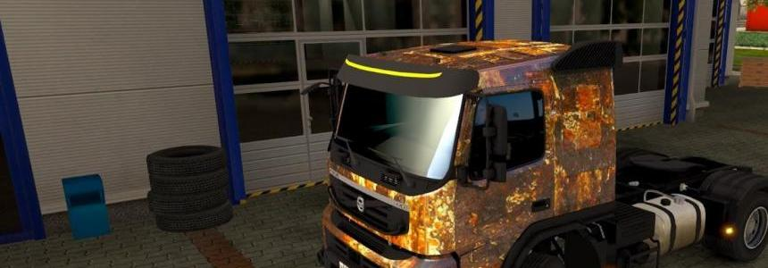 Rust skin for Volvo FMX 540