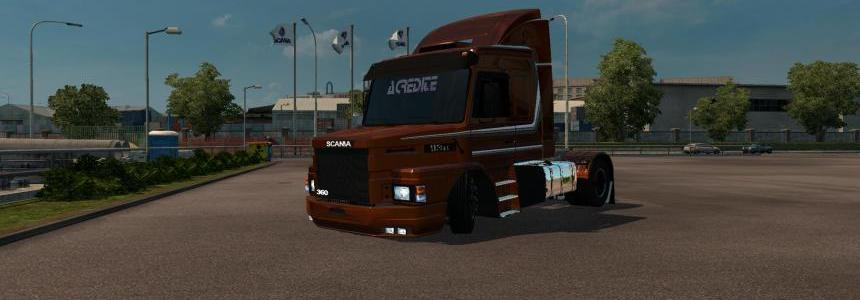 Scania 113 + Accessories + Trailer v2