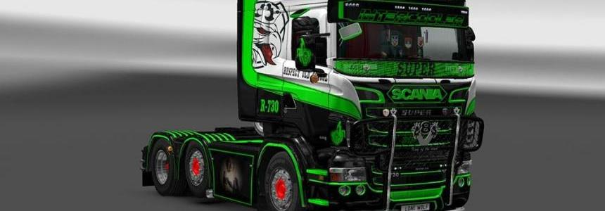 Scania Prometheus Skin 1 & 2