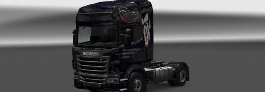 Scania R Normal Joker temali Skin