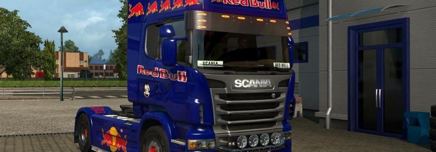 Scania r redbull skin v1