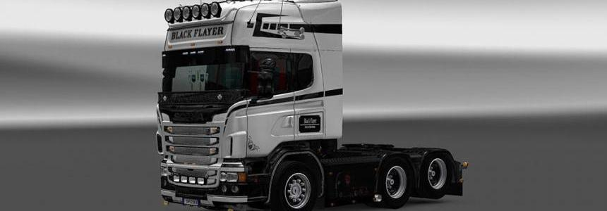 Scania RJL Black Flayer Skin
