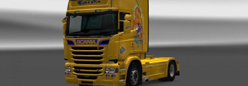 Scania RJL FANTA Skin 1.22