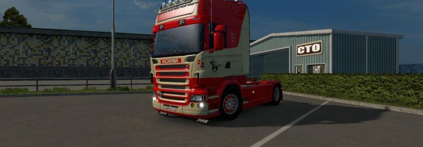 Scania RJL Frank De Ridder Skin