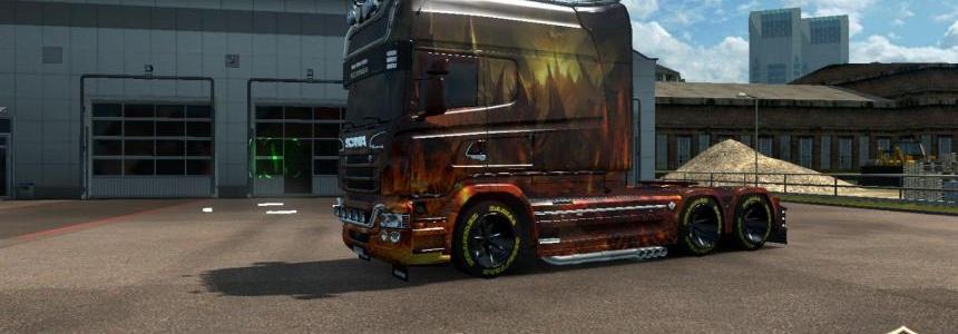 Scania RJL Longline Dragon Skin v2.0