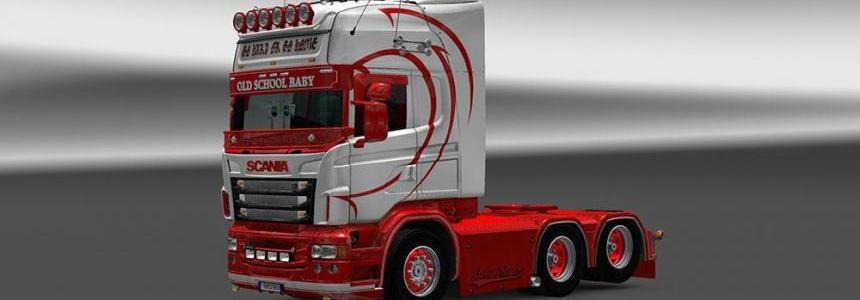 Scania RJL Old School Baby Skin