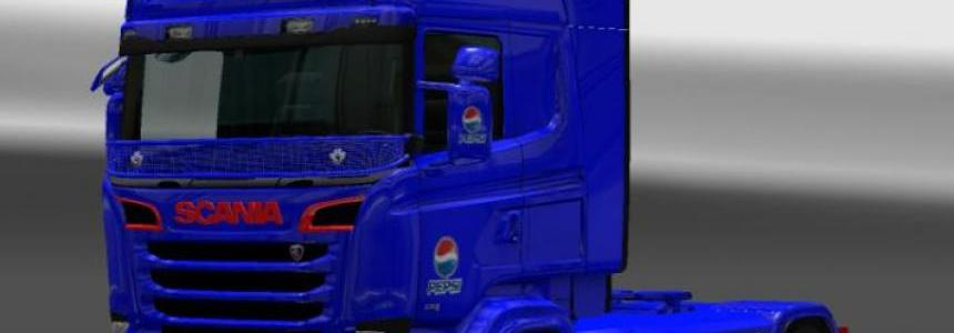 Scania RJL PEPSI Skin 1.22