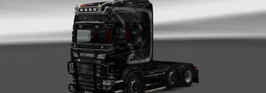 Scania RJL R Grim Reaper Skin