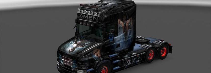 Scania RJL Topline Wolverine V8 Skin