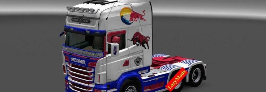 Scania RJL V8 Redbull [LazyMods]