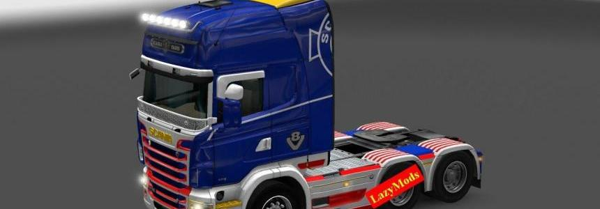 Scania RJL V8 Royal Skin [LazyMods]