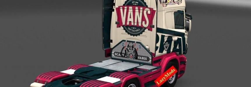 Scania RJL V8 Vans [LazyMods]